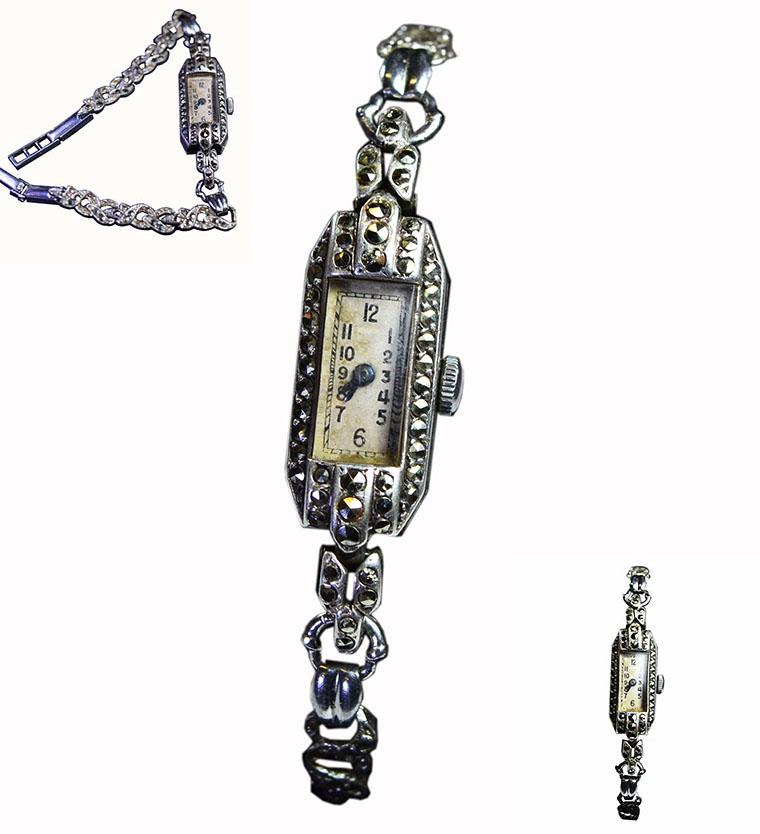 Marcasite Watch 006